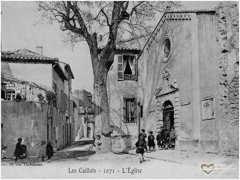 caillols eglise old