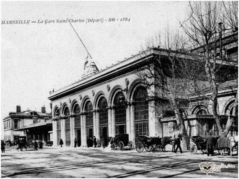 La gare st charles - Distance gare saint charles port marseille ...