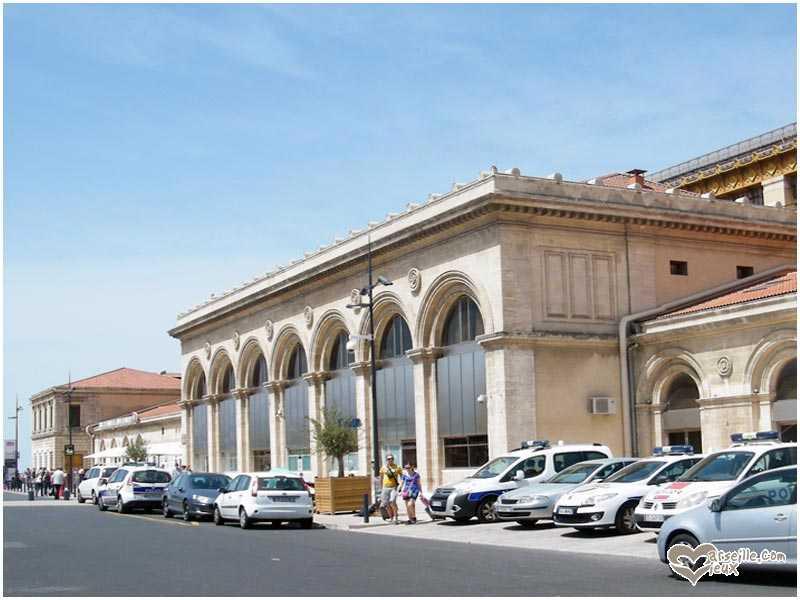 La gare st charles - Distance gare st charles vieux port marseille ...