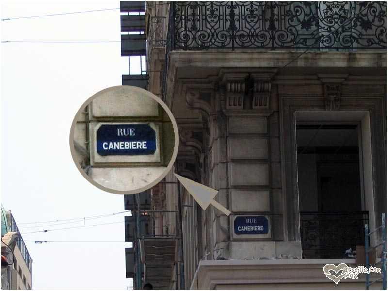 ancienne plaque de rue
